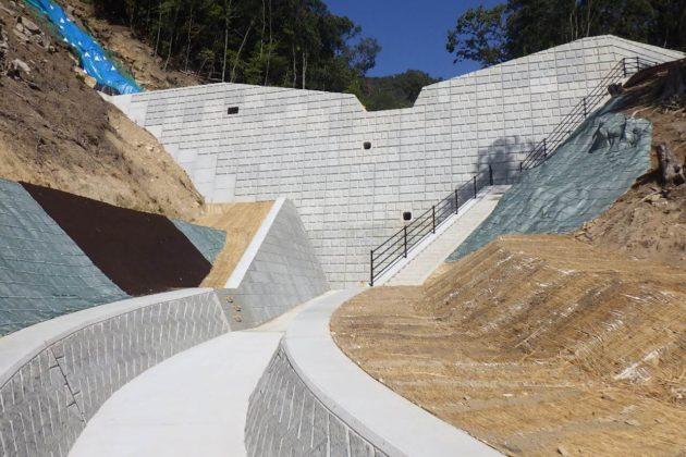 広島西部山系302渓流砂防堰堤工事