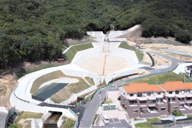 広島西部山系303渓流土石流堆積工第2期工事