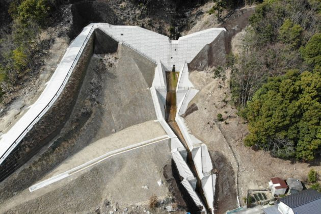 広島西部山系梅林地区砂防堰堤第2工事